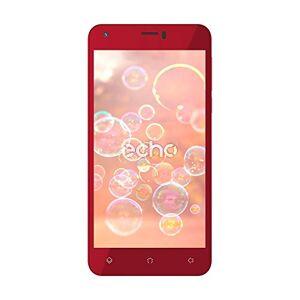 Echo Moss Smartphone, Dual-SIM, Memoria Interna da 8 GB, Rosso