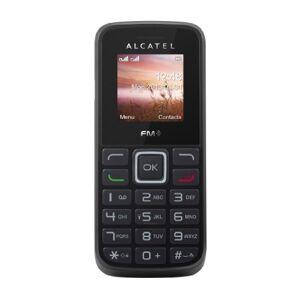 Alcatel One Touch 10-10D Telefono Cellulare, Dual SIM, Black [Italia]