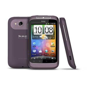 HTC Wildfire S Smartphone, colore: Viola
