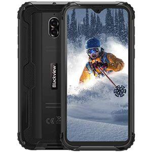 Blackview 2020Blackview BV5900 Smartphone Antiurto IP68 Dual SIM, 4G Cellulare Android 9.0, 5.7 Pollici HD+ Telefono Resistente, 3/32GB, Batteria 5580mAh, 13MP/5MP, TF 256GB, GPS/Face ID/Bussola Nero