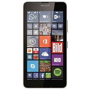Microsoft Lumia 640 Smartphone, Dual-SIM, Display HD-IPS 5 Pollici, Processore Quad-Core 1,2GHz, Fotocamera 8 MP, Memoria 8GB, Win 8.1, Bianco [Germania]