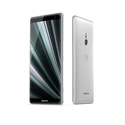 sony xperia xz3 - smartphone con display oled da 6 (64gb di memoria interna, 4gb ram, snapdragon 845, android 9.0) + micro sd da 64 gb [italia]  bianco argento