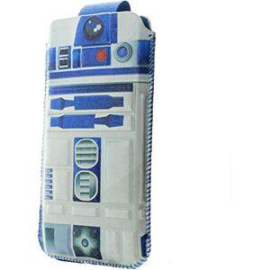 Star Wars CSW-UNI-R2D2 Custodia per Cellulare Custodia a Sacchetto Multicolore