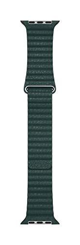 Apple Watch Loop in pelle verde foresta (44 mm) - Large