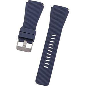 PETER JCKEL Bracciale 22 mm Single Silicon Dark Blue