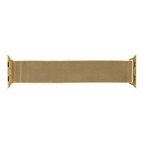 Ksix B0930MD-Cinghia in Metallo per Watch 42 mm, Colore: Oro