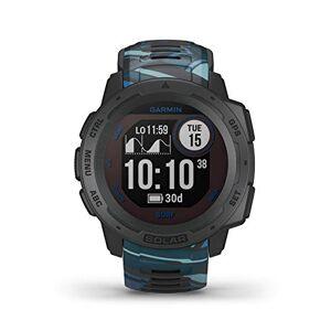 Garmin Instinct Solar, Surf Edition, Pipeline - Smartwatch Gps Ultra-Resistente con Ricarica Solare, Cardio, Pulseox, App Surf e Multisport