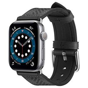 Spigen Retro Fit Compatible con Apple Watch Cinturino per 40mm Serie 6/SE/5/4 e 38mm Serie 3/2/1 - Nero