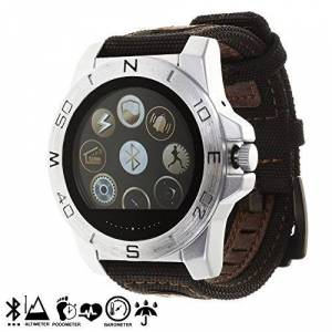 Silica DMR237SILVER  Smartwatch outdoor gx-bw100, colore: argento