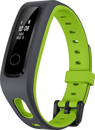 honor 55030497 running band 4 con sensore di movimento a 6 assi, registrazione diretta sulla scarpa, verde