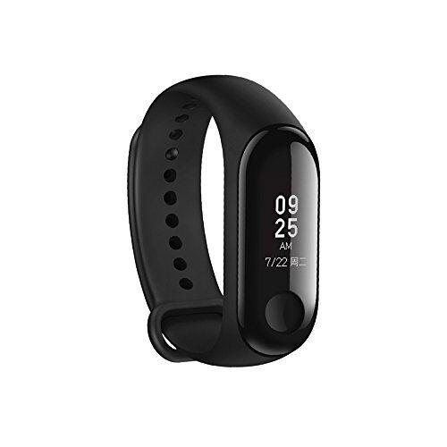 Mijia braccialetto Xiaomi MI Band 3, schermo Touch OLED da 0.78pollici, monitor Battito cardiaco Tracker esercizi, sveglia, Reminder di chiamata di Smartphone iPhone Android