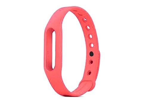 SYSTEM-S - Cinturino di ricambio in silicone per XiaoMi Mi Band 2, colore: Rosa