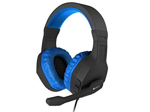 Genesis Cuffia Gaming ARGON-200 Blue Stereo Mic.96dB Cavo 220cm 2 Mini-Jack