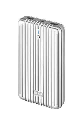 zendure a6pd pro power bank con 20100mah (resistente, 2-port quick charge 3.0, 45w power delivery per iphone, macbook, ipad, android, nintendo switch, usb, usb-c, per bagaglio a mano), argento