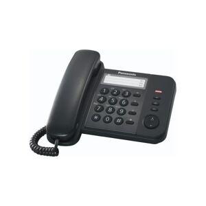 Panasonic KX-TS 520 Telefono Fisso, Nero