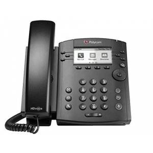 "Polycom VVX 311 Wired handset 6lines LCD Black IP phone - IP Phones (LCD, 208 x 104 pixels, 8.13 cm (3.2""), 6 lines, G.711,G.722,G.722.1,G.729ab,iLBC, 150-7000 Hz)"