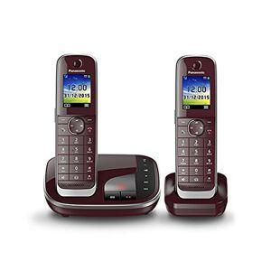 Panasonic KX-TGJ322GR Telefono Fisso, Nero