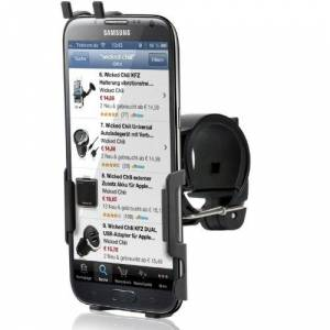 Wicked Chili - Supporto da Bici per Samsung Galaxy Note II N7100 / Note 2, Fissaggio rapido, orientabile a 360