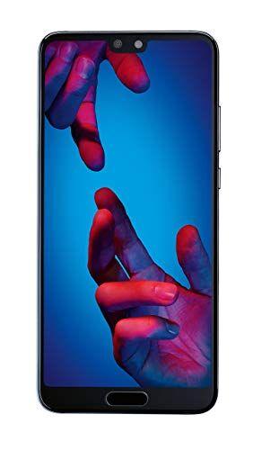 "huawei p20 - smartphone 14.7 cm (5.8""), (doppia sim, 4g 128gb, 20 mp, android, 8.1 oreo + emui 8.1), blu (midnight blue)"