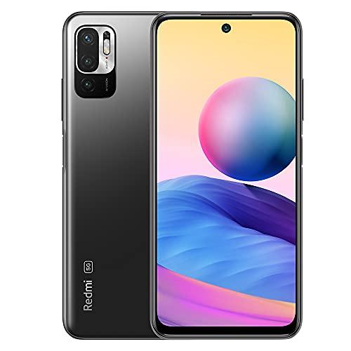 "xiaomi redmi note 10 5g smartphone,4 gb 128 gb telefono cellulare,6.5""fhd + dotdisplay,mediatek dimensity 700,tripla fotocamera (48mp + 2mp + 2mp + 8mp),versione globale(grigio)"