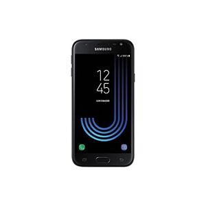 Samsung Galaxy J3 (2017) Smartphone, Nero, 16 GB Espandibili, Dual SIM [Versione Italiana]