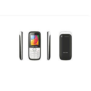 Kooper 2406488 Telefono Cellulare, Bianco/Nero