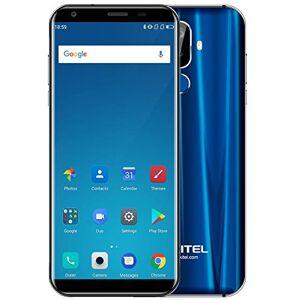 OUKITEL K5 - HD da 5,7 pollici (rapporto 18: 9) Smartphone Android 7.0 4G, quad core da 1,5 GHz da 2 GB + 16 GB, batteria da 4000 mAh, telecamere triple (5 MP + 2 MP + 16 MP) - Blu