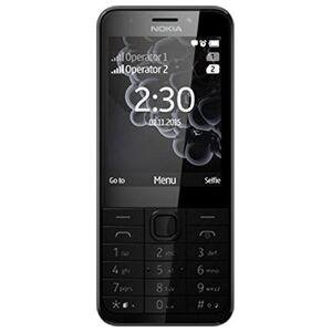 "Nokia Microsoft 230 Dual Sim 2.8"" 91.8g Black,Silver Feature phone - mobile phones (7.11 cm (2.8""), 320 x 240 pixels, LCD, 65536 colours, MicroSD (TransFlash), 32 GB)"