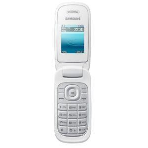 Samsung E1270 Telefono Cellulare, Bianco [Germania]