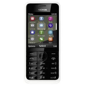 """Nokia 301 2.4"""" 100.5g Bianco"""