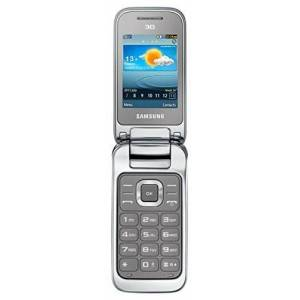 Samsung C3595 Telefono Cellulare, Argento [Germania]