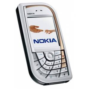 Microsoft Cellulare NOKIA 7610argento, Grigio