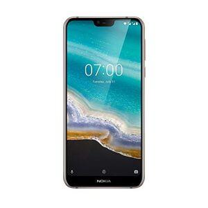 """Nokia 7.1 Smartphone da 32 GB, 3 GB di RAM, Android One, Dual SIM, 5.84"""", Full HD+, Grigio [Versione Italiana, no Operatore]"""