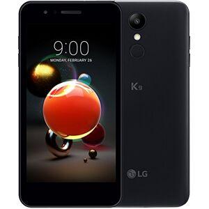 LG K9 smartphone Dual SIM con Display 5'' HD, batteria da 2500mAh, fotocamera 8MP, Selfie 5MP, Quad-Core 1.3GHz, Memoria 16GB, 2GB RAM, Android 7.1.2 Nougat, Aurora Black [Italia]