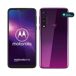 "Motorola One Macro (6,2"" HD+ display, Macro vision camera, 64GB/ 4GB, Android 9.0, dual SIM smartphone), Ultra Violet"