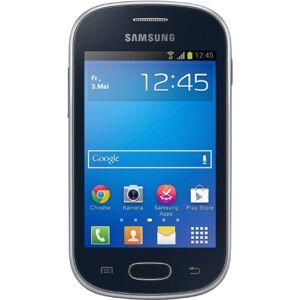 "Samsung Galaxy Fame LITE - Black - Smartphone con display TFT da 8,9 cm (3,5""), 850 MHz, 512 MB RAM, fotocamera da 3.2 megapixel, 4 GB di memoria interna, USB 2.0, Android 4.1"