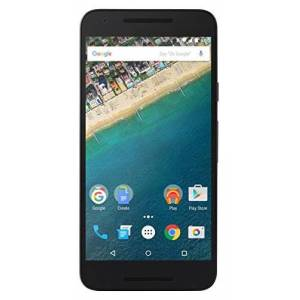 "LG Nexus 5X Smartphone, Display Touch da 5,2"" Full HD, 4G/LTE, 12.3 MP + 5 MP, 2 GB RAM, 32 GB Memoria Interna, Android 6.0, Carbon"