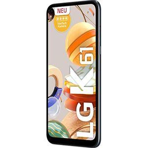 """LG K61 LMQ630EAW 16,6 cm (6.53"""") 4 GB 128 GB Doppia SIM 4G USB Tipo-C Grigio, Titanio Android 9.0 4000 mAh K61 LMQ630EAW, 16,6 cm (6.53""""), 4 GB, 128 GB, 48 MP, Android 9.0, Grigio, Titanio"""