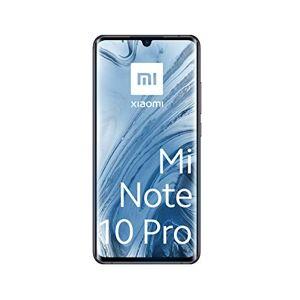 "Xiaomi Mi Note 10 Pro Smartphone, 8 GB RAM + 256 GB ROM, Schermo 3D Curved Amoled 6.47"", Penta Camera 108 MP, 5260 mAh, Midnight Black"