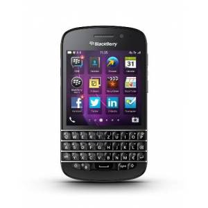 "Blackberry Q10 Smartphone, schermo amoled 3,1"", Cortex-A9 Dual-Core, 1,5GHz, 2GB RAM, 16GB, fotocamera 8 Megapixel, tastiera Qwertz, BlackBerry 10 OS, Nero [Germania]"