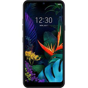 LG K50 smartphone Dual SIM con Doppia fotocamera posteriore, Display 6.26'' HD+, batteria da 3500mAh, Selfie da 13MP, Audio DTS:X, Octa-Core 2.0GHz, Memoria 32GB, 3GB RAM, Android 9, Black [Italia]