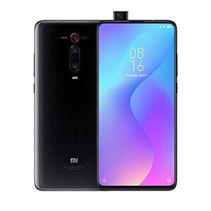 """Xiaomi Mi 9T Smartphone da 6.39"""" FHD, Snapdragon 730, 6GB di RAM, 64GB, doppia fotocamera 48MP+20MP, batteria 4000 mAh e ricarica rapida 18W, Nero (Carbon Black)"""