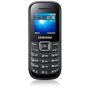 Samsung E1200 Sim Free Smartphone, Nero [Germania]