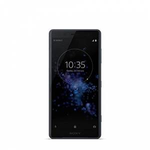 "Sony Xperia XZ2 Compact Smartphone, Display 5.0"", 64 GB, Mono Sim, Camera da 19 MP con registrazione di video in 4K HDR, Nero [Italia]"
