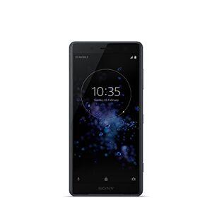 """Sony Xperia XZ2 Compact Smartphone, Display 5.0"""", 64 GB, Mono Sim, Camera da 19 MP con registrazione di video in 4K HDR, Nero [Italia]"""