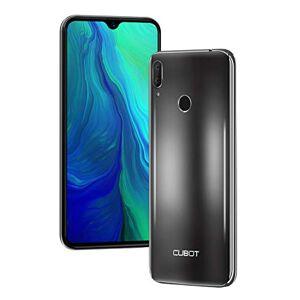 CUBOT R15 Pro Smartphone 6.26 Polliic Waterdrop Screen Android 9 3GB 32GB 16.0MP + 2.0MP Fotocamera Posteriore Face ID e Impronte Digitali ID Dual SIM 4G Cellulare Nero