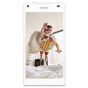 Sony Xperia Z5 Compact Smartphone, Display 4,6 Pollici, Memoria 32 GB, Android 5.1, Bianco [Germania]