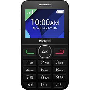 Alcatel 2008G-3aalde1Telefono Cellulare (Display 6,1cm (2,4pollici), 16GB di memoria) Nero/Bianco
