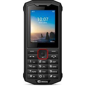 Crosscall Spider-X4 Telefono Cellulare Resistente, 2.4'' - 64 GB Espandibili, Dual SIM, Nero