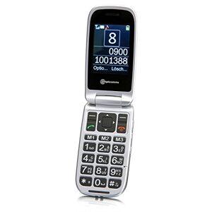 """amplicomms PowerTel M7510-3G Tlefono mobile, DUAL SIM, Clamshell, 6.1 cm (2.4""""), 3 MP, Bluetooth, 900 mAh, 102g, Nero"""